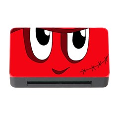 Halloween Frankenstein - red Memory Card Reader with CF