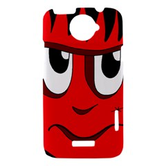 Halloween Frankenstein - red HTC One X Hardshell Case