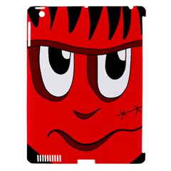 Halloween Frankenstein - red Apple iPad 3/4 Hardshell Case (Compatible with Smart Cover)