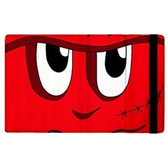 Halloween Frankenstein - red Apple iPad 3/4 Flip Case