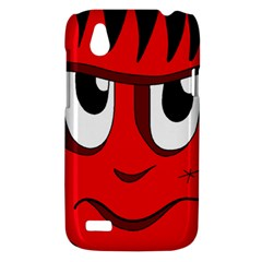 Halloween Frankenstein - red HTC Desire V (T328W) Hardshell Case
