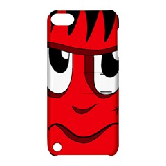 Halloween Frankenstein - red Apple iPod Touch 5 Hardshell Case with Stand
