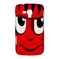 Halloween Frankenstein - red Samsung Galaxy Duos I8262 Hardshell Case