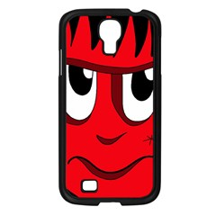 Halloween Frankenstein - red Samsung Galaxy S4 I9500/ I9505 Case (Black)