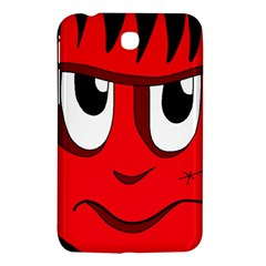 Halloween Frankenstein - red Samsung Galaxy Tab 3 (7 ) P3200 Hardshell Case