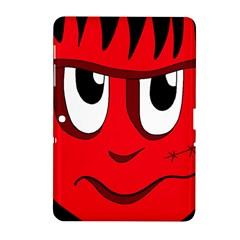 Halloween Frankenstein - red Samsung Galaxy Tab 2 (10.1 ) P5100 Hardshell Case