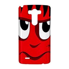 Halloween Frankenstein - red LG G3 Hardshell Case
