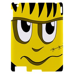 Halloween Frankenstein - yellow Apple iPad 2 Hardshell Case