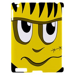 Halloween Frankenstein - yellow Apple iPad 2 Hardshell Case (Compatible with Smart Cover)