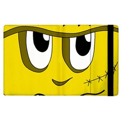 Halloween Frankenstein - yellow Apple iPad 3/4 Flip Case