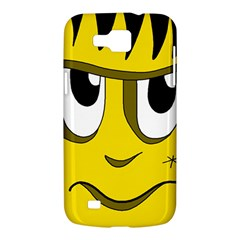 Halloween Frankenstein - yellow Samsung Galaxy Premier I9260 Hardshell Case