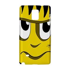 Halloween Frankenstein - yellow Samsung Galaxy Note 4 Hardshell Case