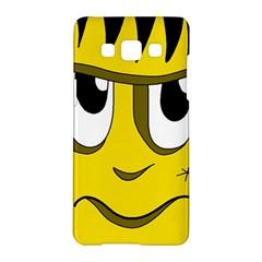 Halloween Frankenstein - yellow Samsung Galaxy A5 Hardshell Case