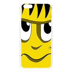 Halloween Frankenstein - yellow Apple Seamless iPhone 6 Plus/6S Plus Case (Transparent)