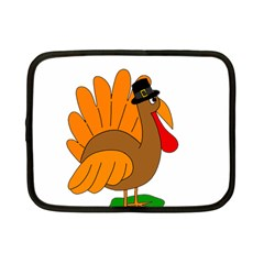 Thanksgiving turkey - transparent Netbook Case (Small)