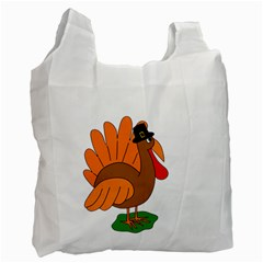 Thanksgiving turkey - transparent Recycle Bag (Two Side)
