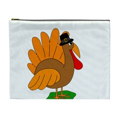 Thanksgiving turkey - transparent Cosmetic Bag (XL)