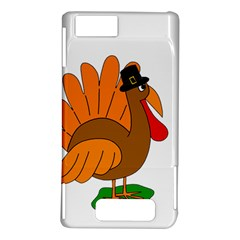 Thanksgiving turkey - transparent Motorola DROID X2