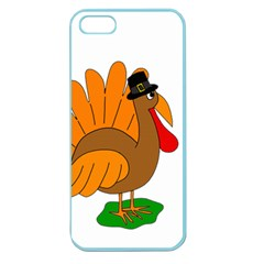 Thanksgiving turkey - transparent Apple Seamless iPhone 5 Case (Color)