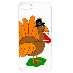 Thanksgiving turkey - transparent Apple iPhone 5 Hardshell Case with Stand