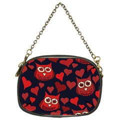 Owl You Need In Love Owls Chain Purses (Two Sides)