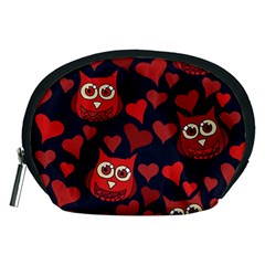 Owl You Need In Love Owls Accessory Pouches (Medium)