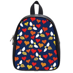 Honey Bees In Love School Bags (Small)
