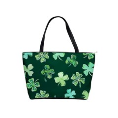 Lucky Shamrocks Shoulder Handbags