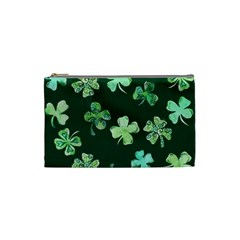 Lucky Shamrocks Cosmetic Bag (Small)
