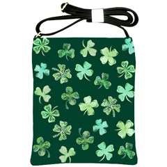 Lucky Shamrocks Shoulder Sling Bags