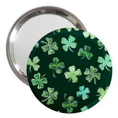Lucky Shamrocks 3  Handbag Mirrors