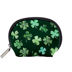 Lucky Shamrocks Accessory Pouches (Small)