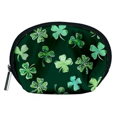 Lucky Shamrocks Accessory Pouches (Medium)
