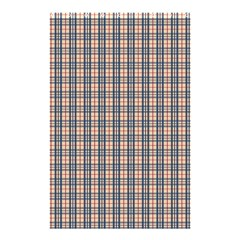Chequered Plaid Shower Curtain 48  X 72  (small)