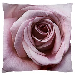 Pink Rose Large Cushion Case (two Sided)