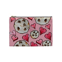 Chocolate Chip Cookies Cosmetic Bag (Medium)