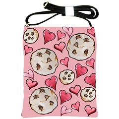 Chocolate Chip Cookies Shoulder Sling Bags