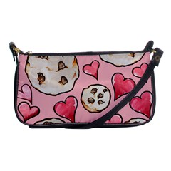 Chocolate Chip Cookies Shoulder Clutch Bags