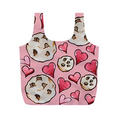 Chocolate Chip Cookies Full Print Recycle Bags (M)