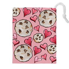 Chocolate Chip Cookies Drawstring Pouches (XXL)