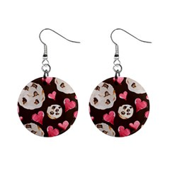 Chocolate Chip Cookies Mini Button Earrings