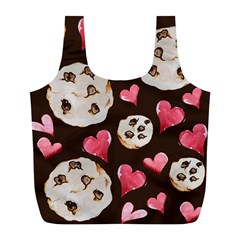 Chocolate Chip Cookies Full Print Recycle Bags (L)