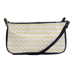 Chevron Sand Shoulder Clutch Bags