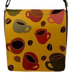 Coffee Lover Flap Messenger Bag (S)