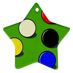 Billiard  Ornament (Star)