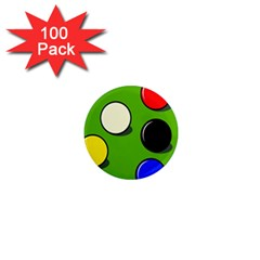 Billiard  1  Mini Magnets (100 pack)