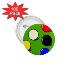 Billiard  1.75  Buttons (100 pack)