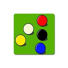Billiard  Square Magnet