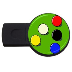 Billiard  USB Flash Drive Round (2 GB)