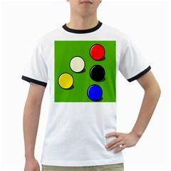 Billiard  Ringer T-Shirts